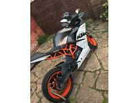 Ktm rc 125/390! 390 registered as a 125