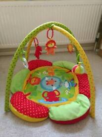 Mothercare safari baby gym