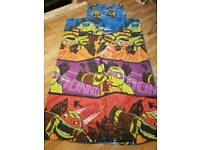 Ninja Turtles bed cover