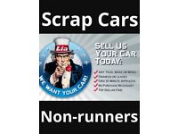Scrap my car today Cash paid