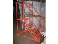 ALL MOBILE STEPS AND ISLE STEPS WANTED ( PALLET RACKING , STORAGE )