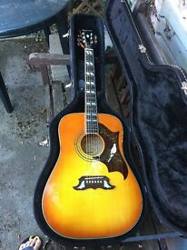 Epiphone Pro Dove electric acoustic