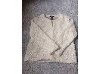 White cardigan / blazer for sale