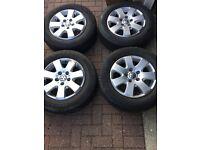 Volkswagen Transporter T5, 16inch, Alloy wheels and Tyres