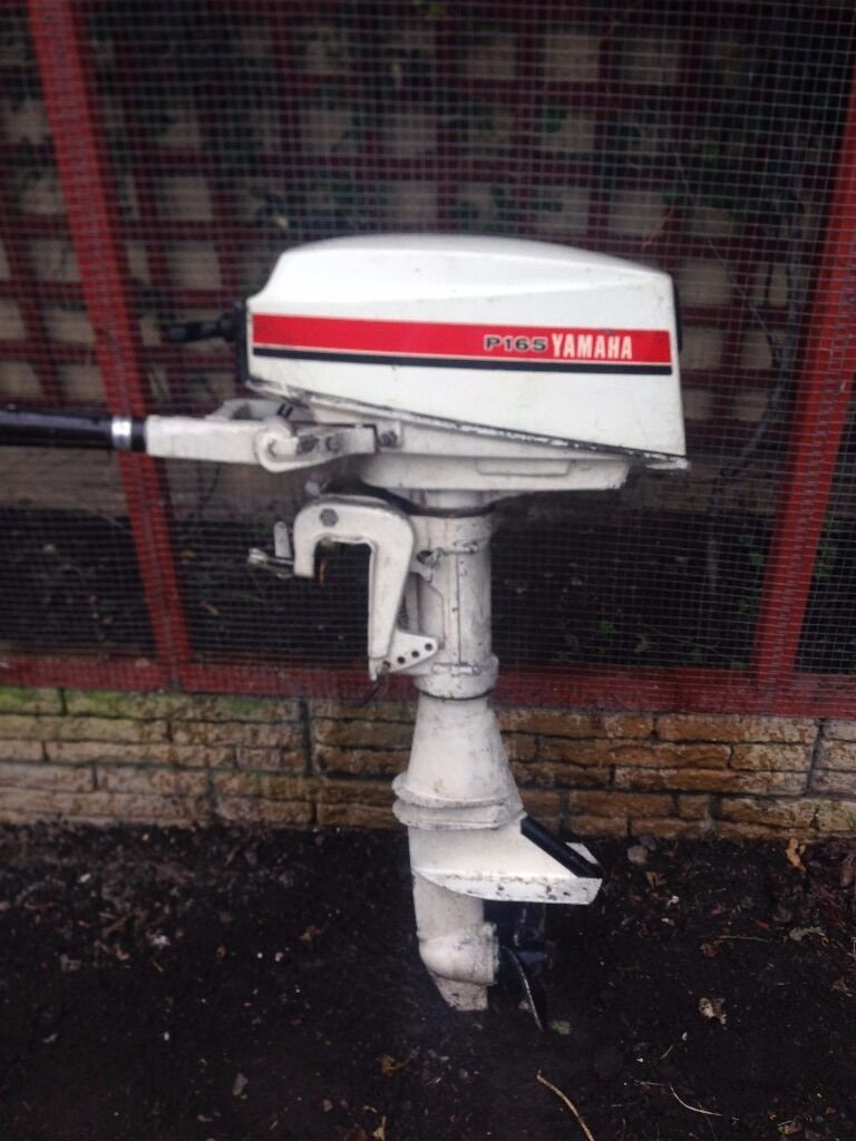 Yamaha p165 8 hp outboard motor in bootle merseyside for 10 hp outboard jet motor