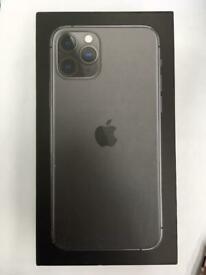 iphone 11 pro+max 64gb unlocked like new box warranty