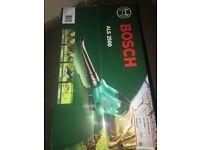 Bosch leaf blower brand new never opened