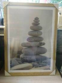 Large sealed picture frame