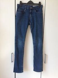 H&M Slim blue jeans with pockets, size 12-13