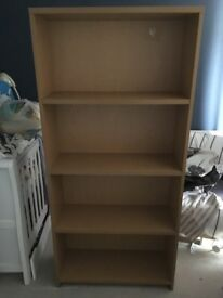 Wooden Bookcase for sale.