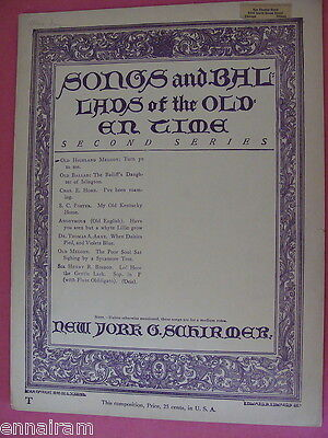 Turn Ye To Me Old Highland Melody John Wilson, Malcolm Lawson, Christopher North