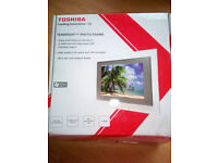 toshiba texbright photo frame
