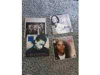 4 Lp albums