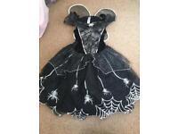 ASDA George Halloween witch dress, age 10-11