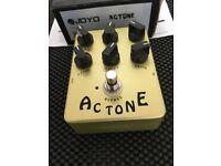 Joyo AC Tone Guitar FX pedal. With original box and manual.