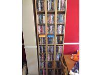 Over 200 DVDs including box sets