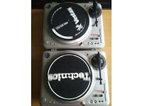 Vestax PDX 2000 Pair, early series made in Japan, mint unused condition !