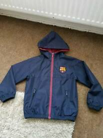 Barcelona Fc Jacket - age 6/7