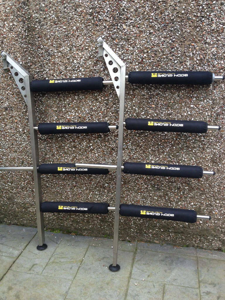 Stainless Steel 4 Board Windsurf Rack For Transporter From
