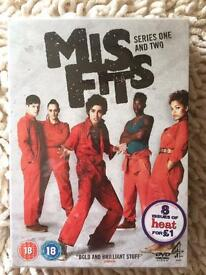 Misfits 1,2 DVD. New