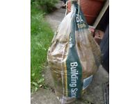 Half a bag of Building Sand and Old Bricks (10+) FREE