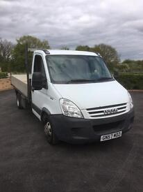 Iveco daily 35c12 hpi 12ft dropside truck 2008 57reg