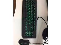 Razer Chroma Mouse & Mechanical Keyboard Set (Great quality)