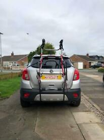 Halfords Rear High Mount 3-Bike Bike Rack
