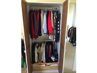IKEA Pax Wardrobe White Large Double Shaker Detail 236 cm - 3 doors available