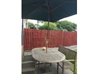 Mahogany Patio Dining Set for Sale