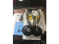 PLANTRONICS SupraPlus HW261/A Binaural Tube Telephone Headset - NEW