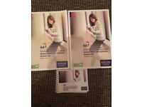 AAT level 4 Kaplan books managing accounts budgeting full set