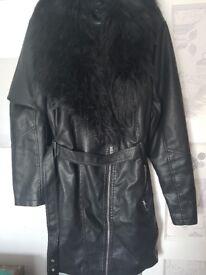 Size 22 leather style jacket