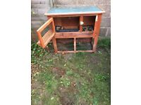 Used rabbit hutch for sale