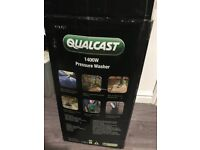 Qualcast pressure washer 1400w power hardly used still boxed