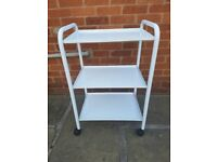 Trolley and stool for sale