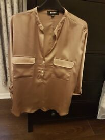 Missguided Top Size 10