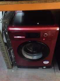 BEKO 9KG WASHING MACHINE RED RECONDITIONED