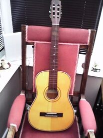 SHELTONE JULIETTA ACOUSTIC GUITAR CIRCA LATE 50'S EARLY 60'S VERY GOOD CONDITION