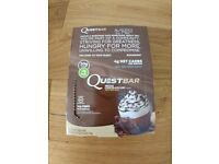 Quest Nutrition 60 g Mocha Chocolate Chip Gluten Free Energy Bars - Pack of 11 New * Leeds & Post *