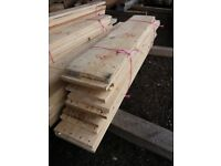 "job lot of 8"" x half inch x 3ft 6"" timber (15 lengths) for £25"