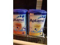 Aptamil babies milk Expiry 06/12/17