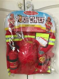 Fire chief costume