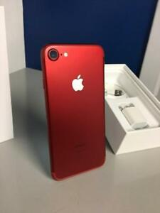 LIMITED EDITION RED iPHONE 7 256 GO/ iPHONE 7 ROUGE 256 GO ÉDITION LIMITÉE