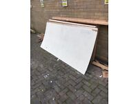 Peg board 1m wide 2.2 m long second hand