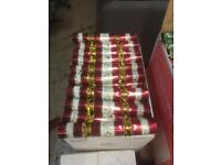 "100 x 11"" Christmas crackers"