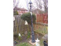 Victorian style 7ft garden lamp ,decorative