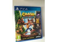 Crash Bandicoot N Sane Trilogy PS4 Game