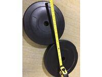 2 x 5kg weights - just £5
