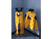 Musto HPX Offshore Sailing Gortex Water and Weather Proof Premium Jacket and Trousers